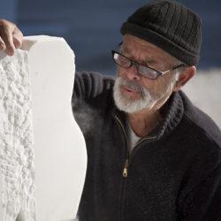 sculpture en marbre de carrare