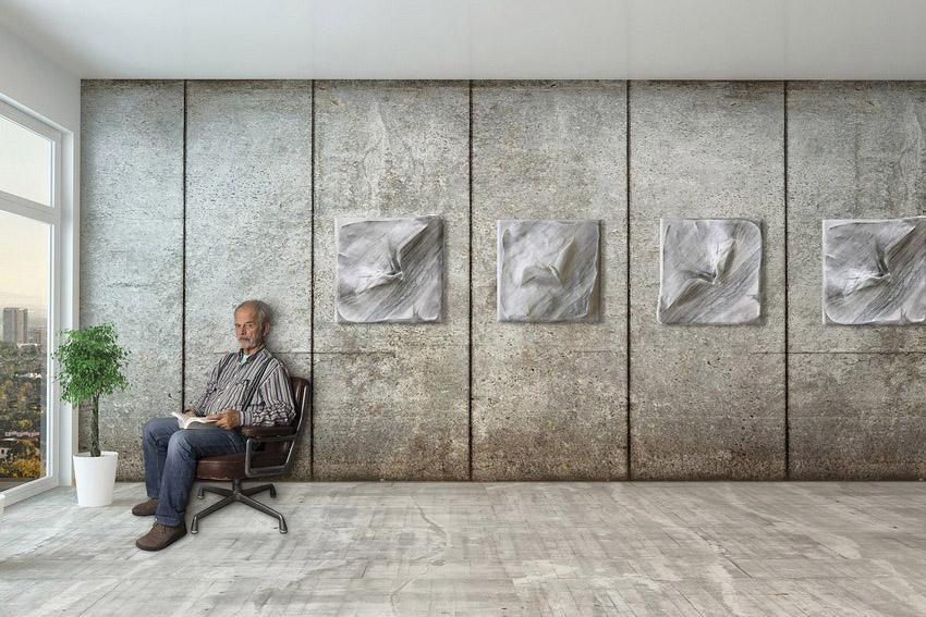 sculpteur français contemporain et architecte d'intérieur